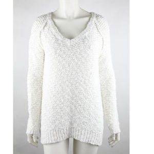 Aeropostale Women's Pullover Sweater Size M White